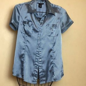 BCBGMaxAzria button down blouse